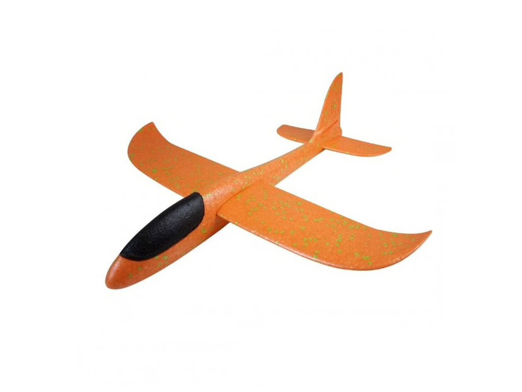 FOXGLIDER dětské házedlo letadlo EPP 48cm oranžové bez