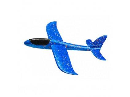 FOXGLIDER dětské házedlo letadlo EPP 48cm modré bez