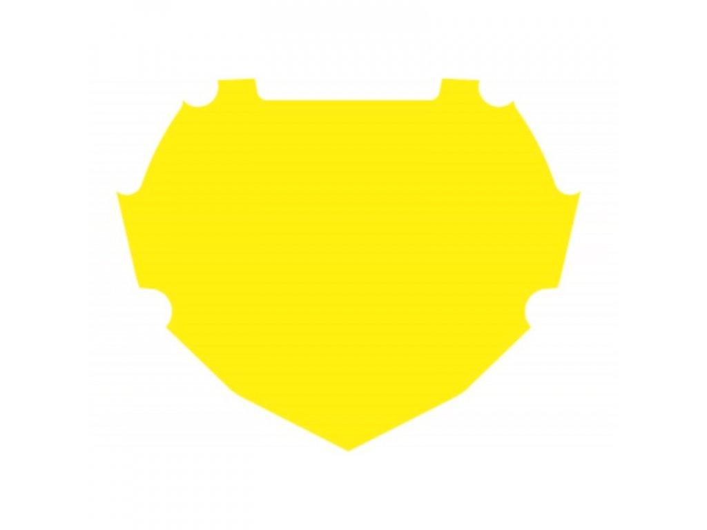Podklad na bikrosovou tabulku BOX Two Yellow
