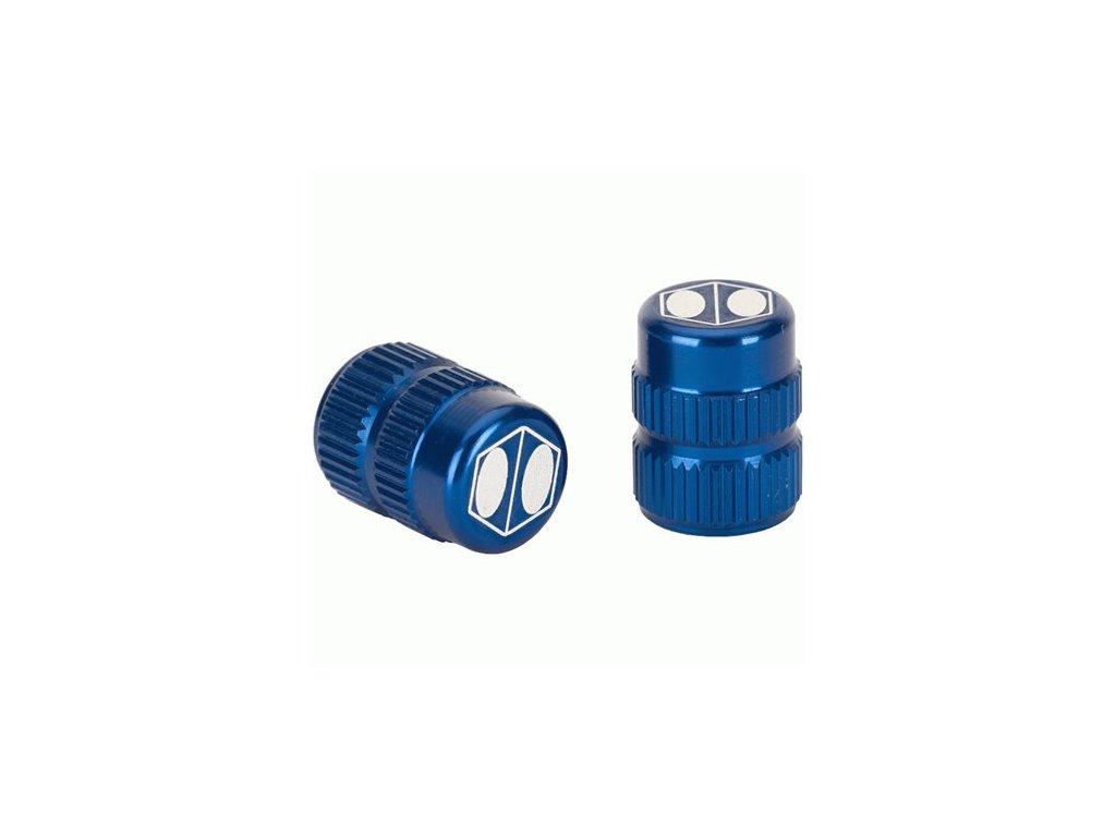 box one cube valve cap blue schrader