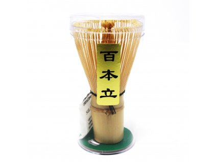 Bamboo Chasen Matcha Tea Whisk 100 Prong 2 2000x