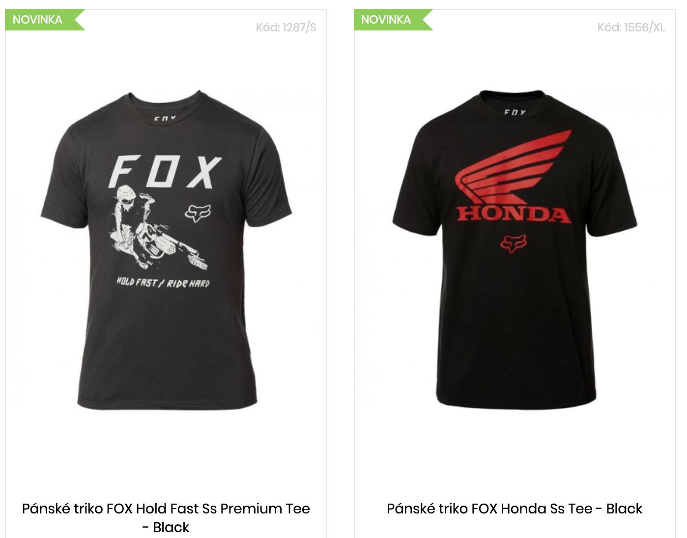 Nová kolekce oblečení FOX Racing jaro 2020!