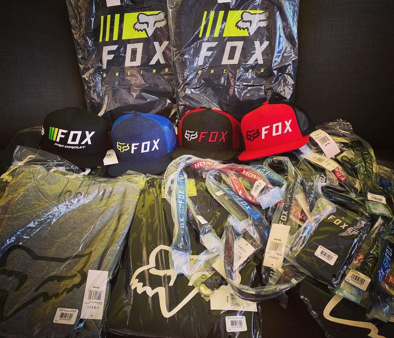 Nové oblečení FOX racing