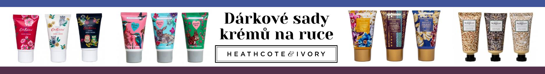 Heathcote & Ivory sady krémů na ruce a nehty