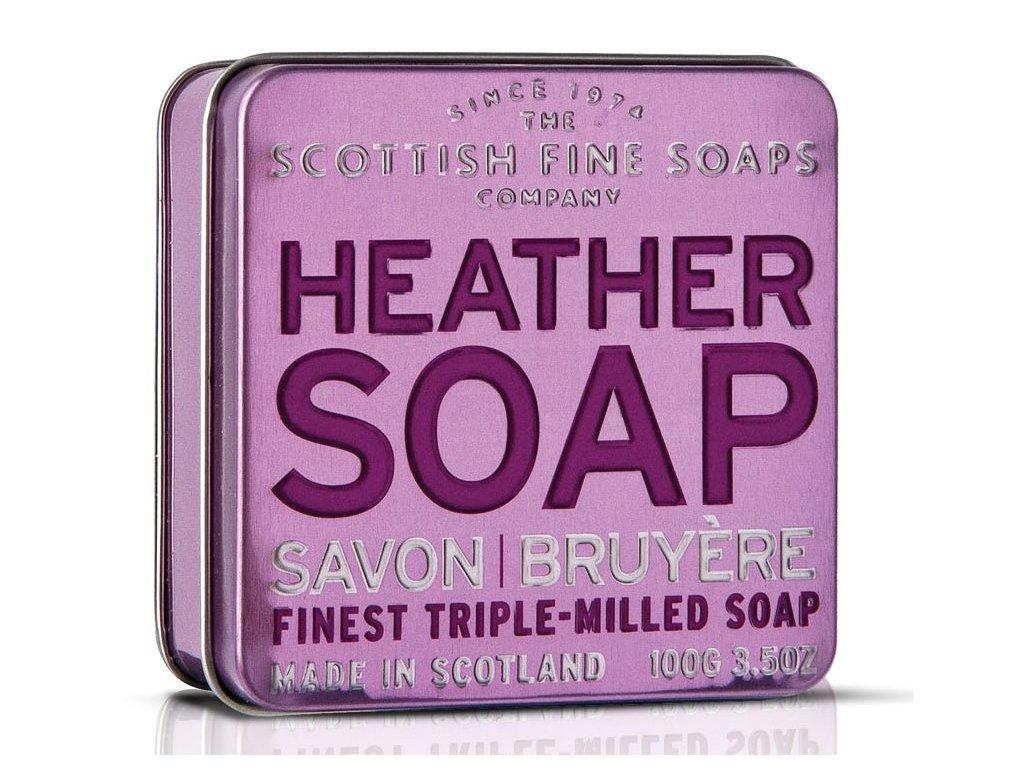 Scottish Fine Soaps Mýdlo v plechu - Vřesovec 100g
