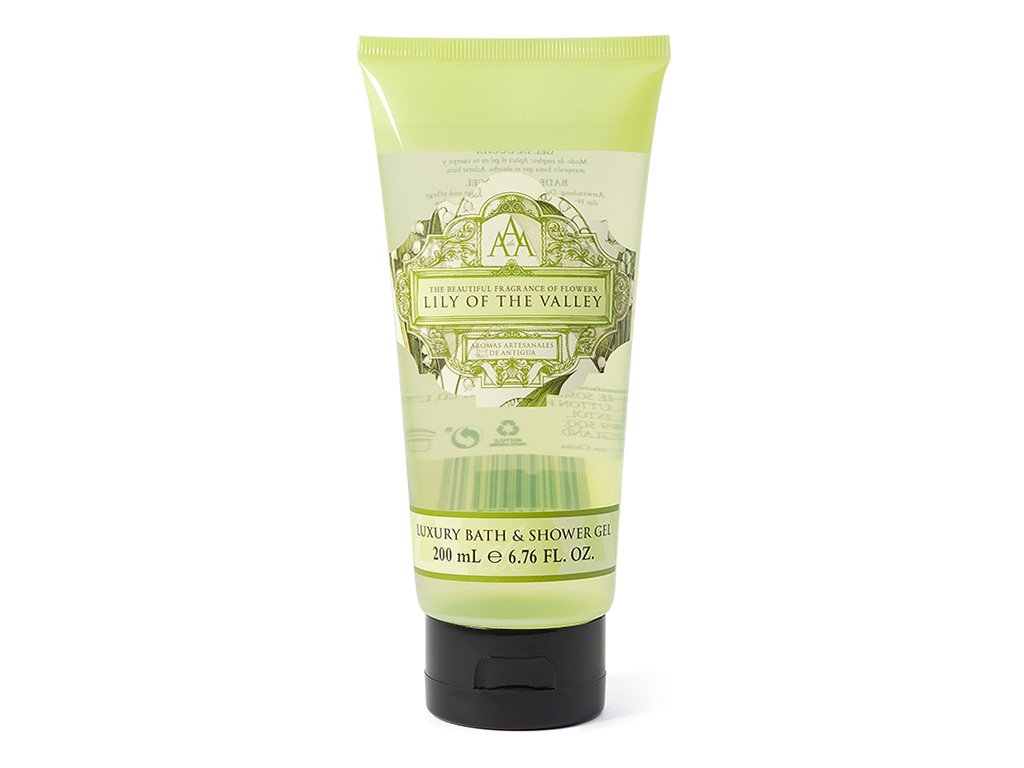 aromas antigua floral shower gel lily valley