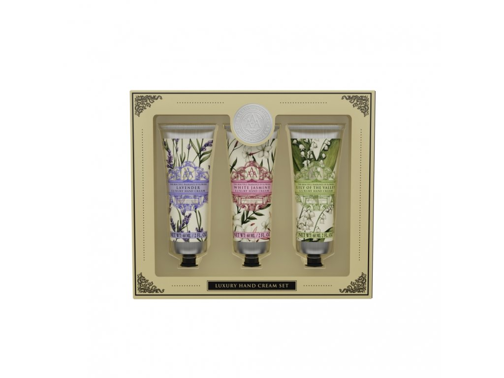 Somerset Toiletry Krém na ruce - Floral 3 x 60ml