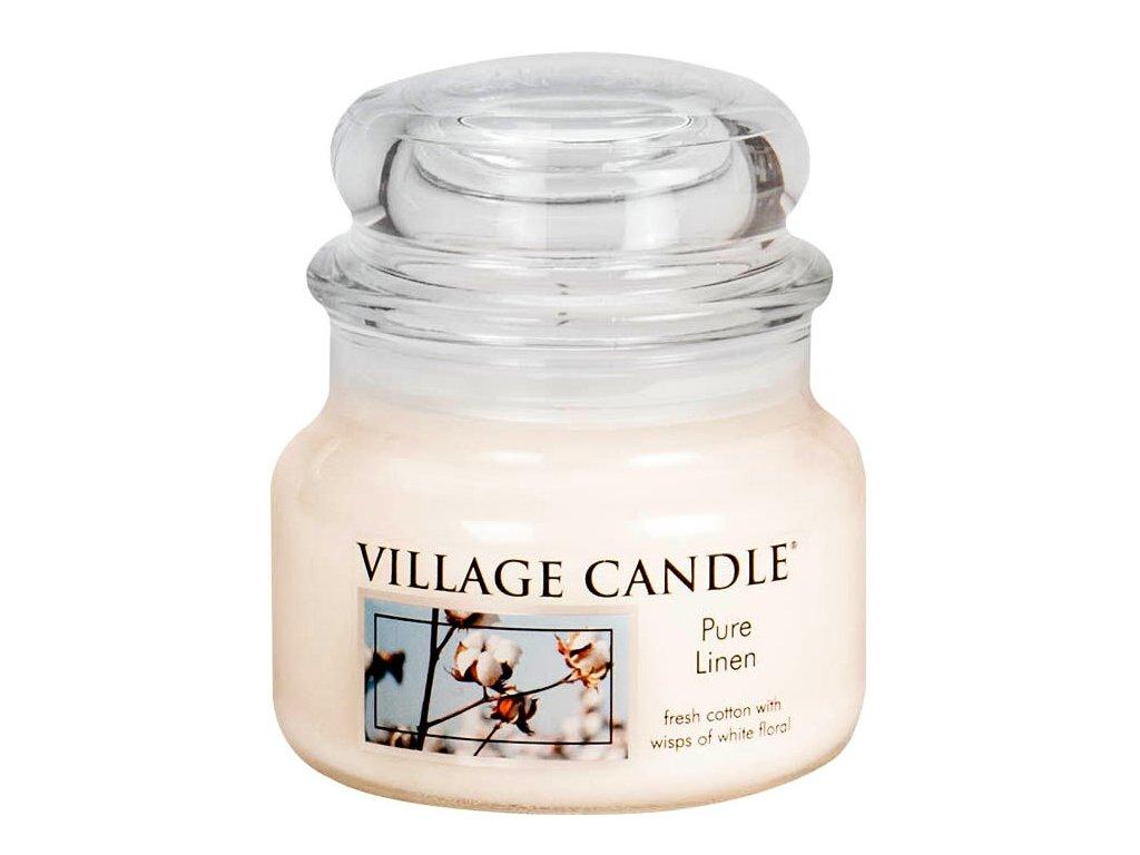 Village Candle Vosk, Čisté prádlo - Pure Linen 62g