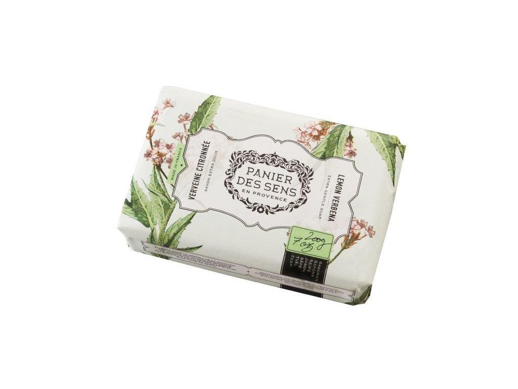 Panier des Sens Mýdlo s bambuckým máslem - Citrón a verbena 200g