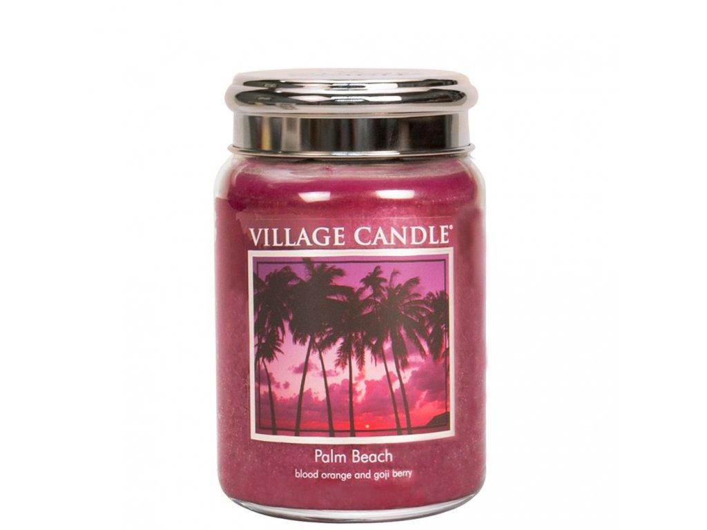 Village Candle Vosk, Palmová pláž - Palm Beach 62g