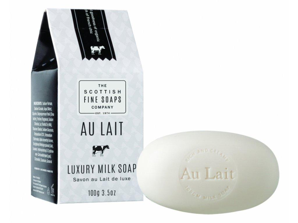 Scottish Fine Soaps Mýdlo - Au Lait, 100g