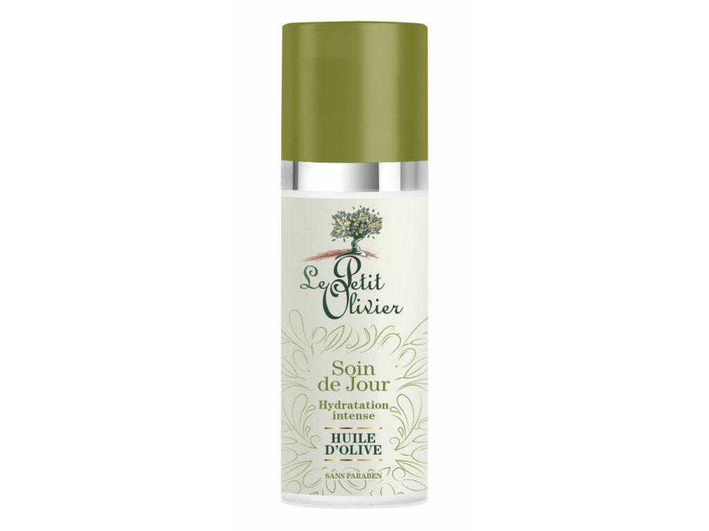 Le Petit Olivier Hydratační denní pleťový krém s olivovým olejem - 50ml