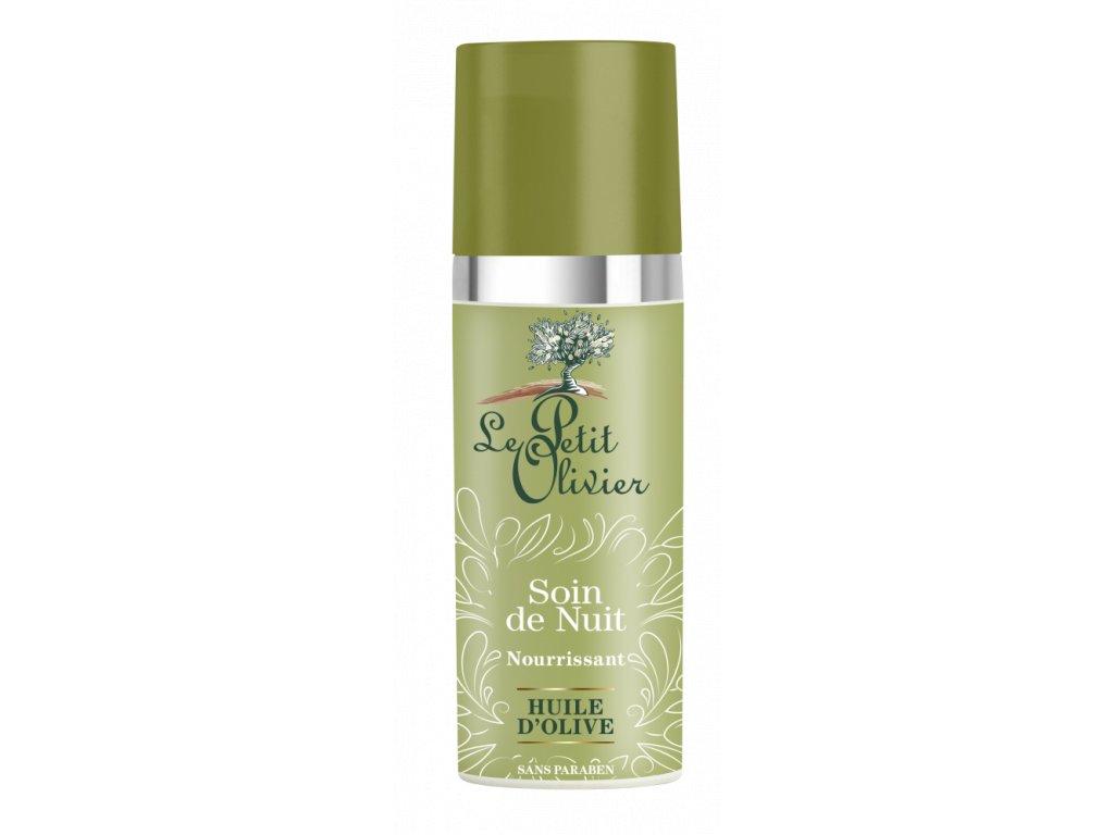 Le Petit Olivier Vyživující noční pleťový krém s olivovým olejem - 50ml