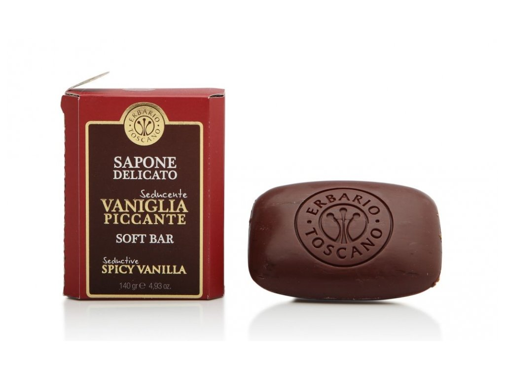 Erbario Toscano Mýdlo - Vanilka a koření, 140g