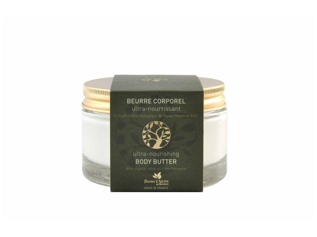 Panier des Sens Tělové máslo ve skle - Oliva 200ml