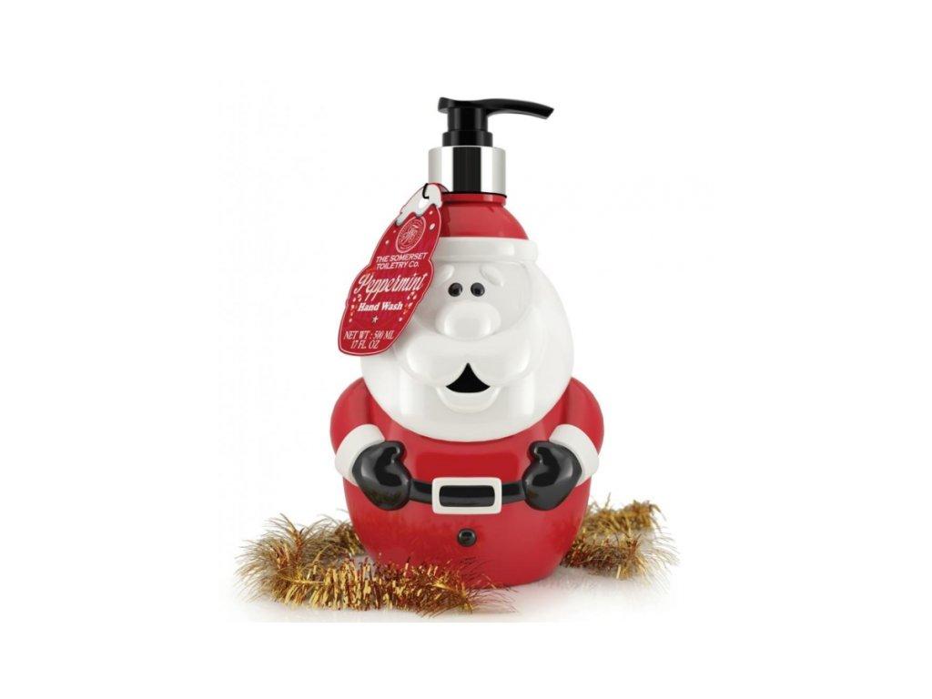 Somerset Toiletry Santa Tekuté mýdlo na ruce - Peppermint, 500ml