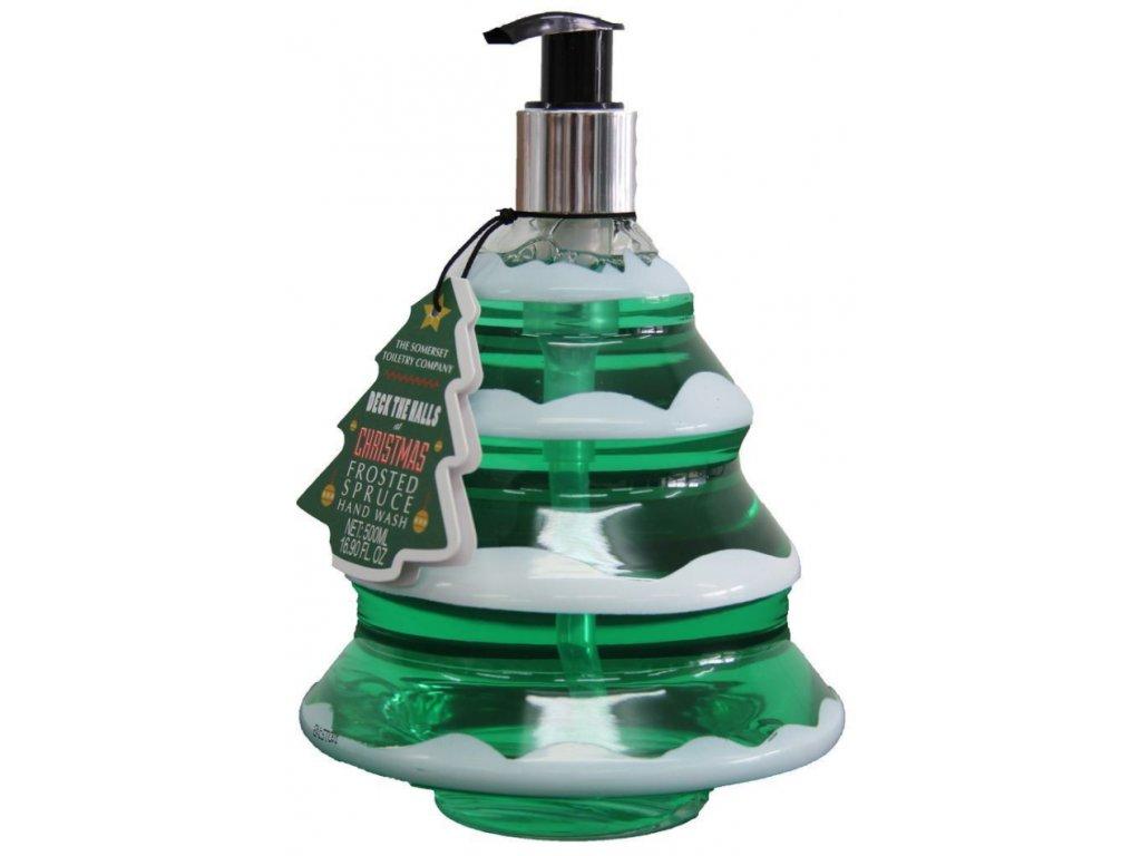 Somerset Toiletry Vánoční stromeček Tekuté mýdlo na ruce - Smrk, 500ml