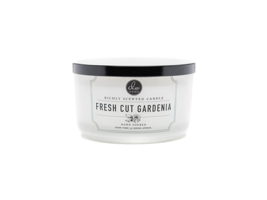 DW Home Vonná svíčka ve skle Svěží gardénie - Fresh Cut Gardenia, 12,8oz