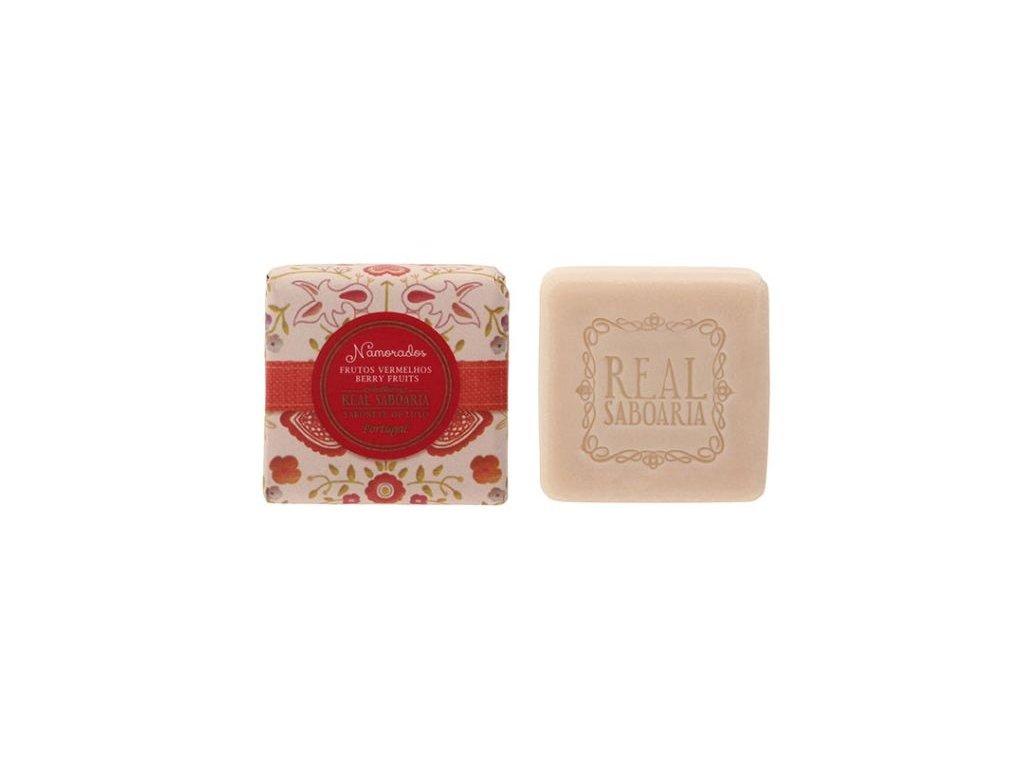 Real Saboaria Luxusní mýdlo - Červené bobule 50g