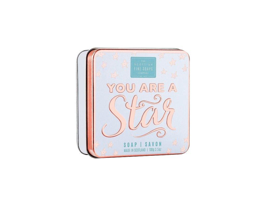 Scottish Fine Soaps Mýdlo v plechu - You Are A Star, 100g
