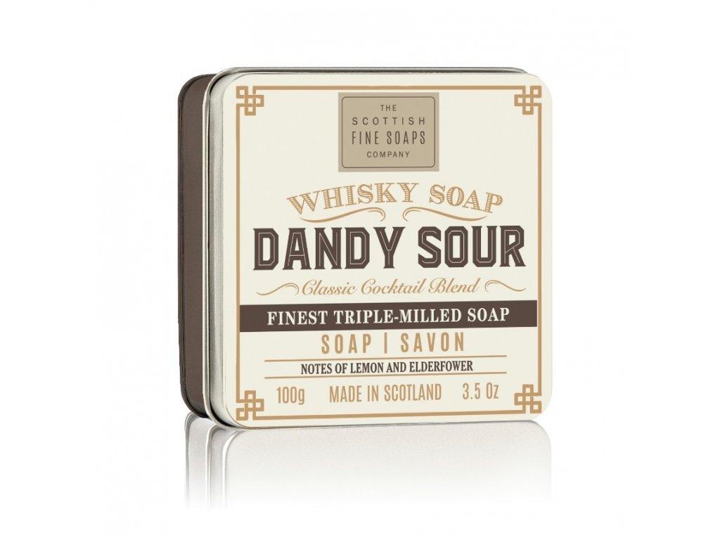 Scottish Fine Soaps Mýdlo v plechu - Whisky Dandy Sour, 100g