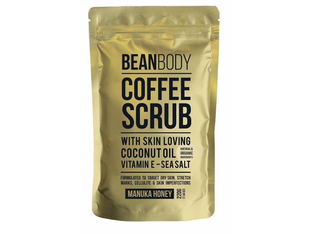 Bean Body Tělový peeling Manukový Med 220g