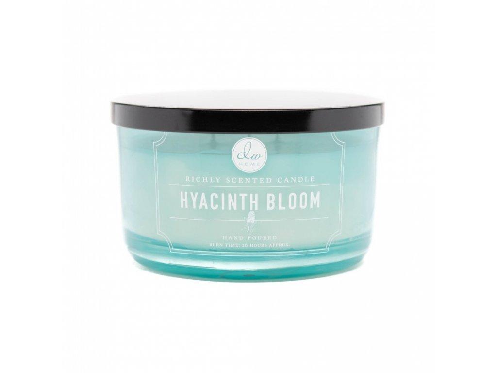 DW Home Vonná svíčka ve skle Hyacint - Hyacinth Bloom, 13,8oz