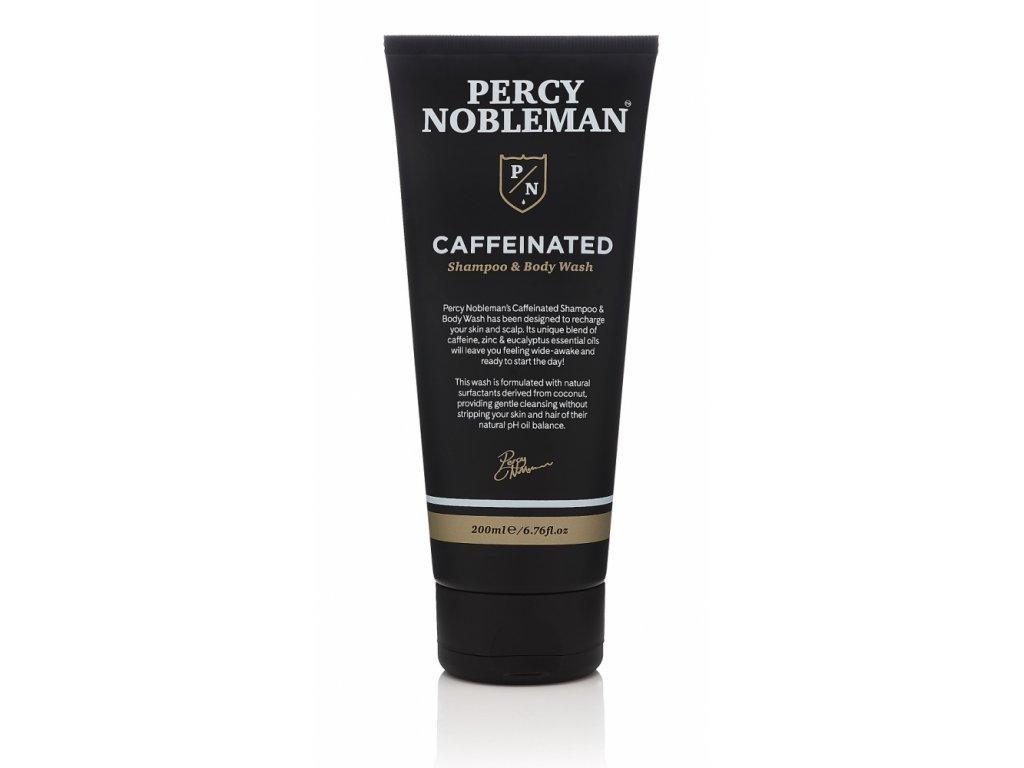 Percy Nobleman Pánský Kofeinový Šampón a Mycí gel, 200ml