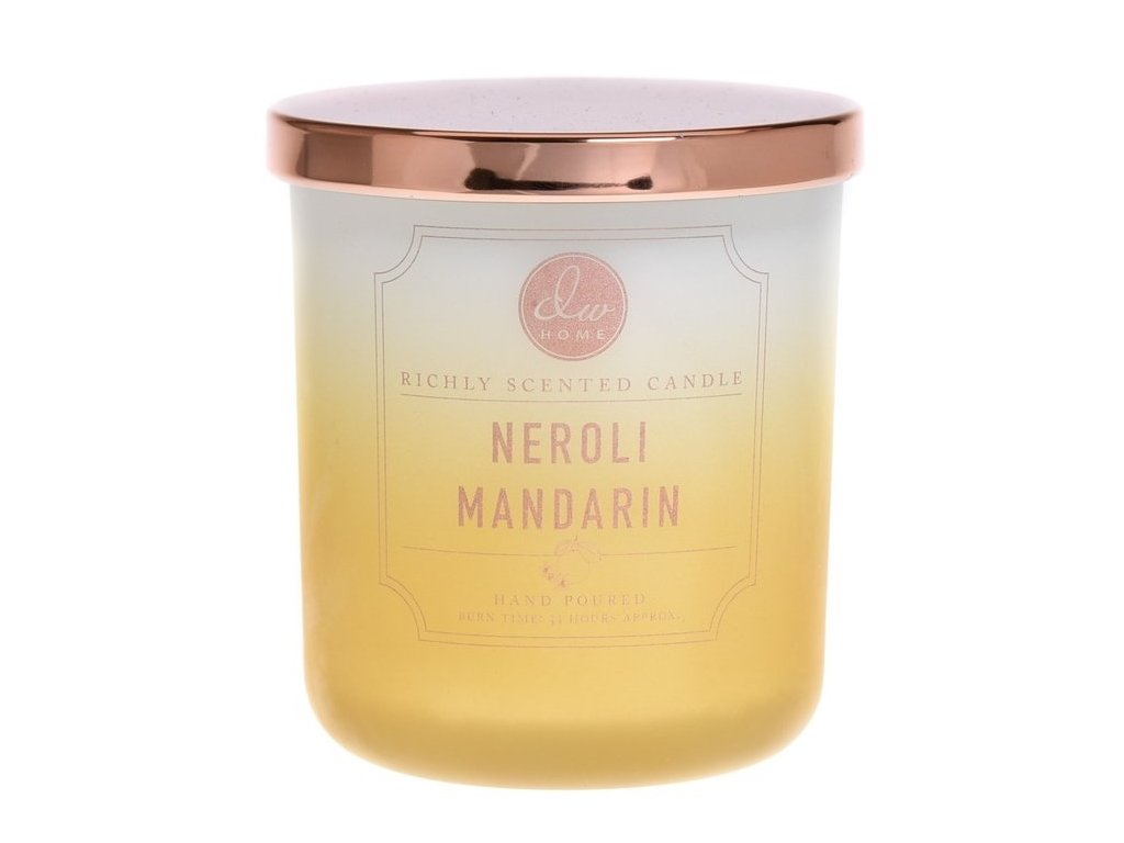 DW Home Vonná svíčka ve skle Neroli a Mandarinka - Neroli Mandarin, 9oz