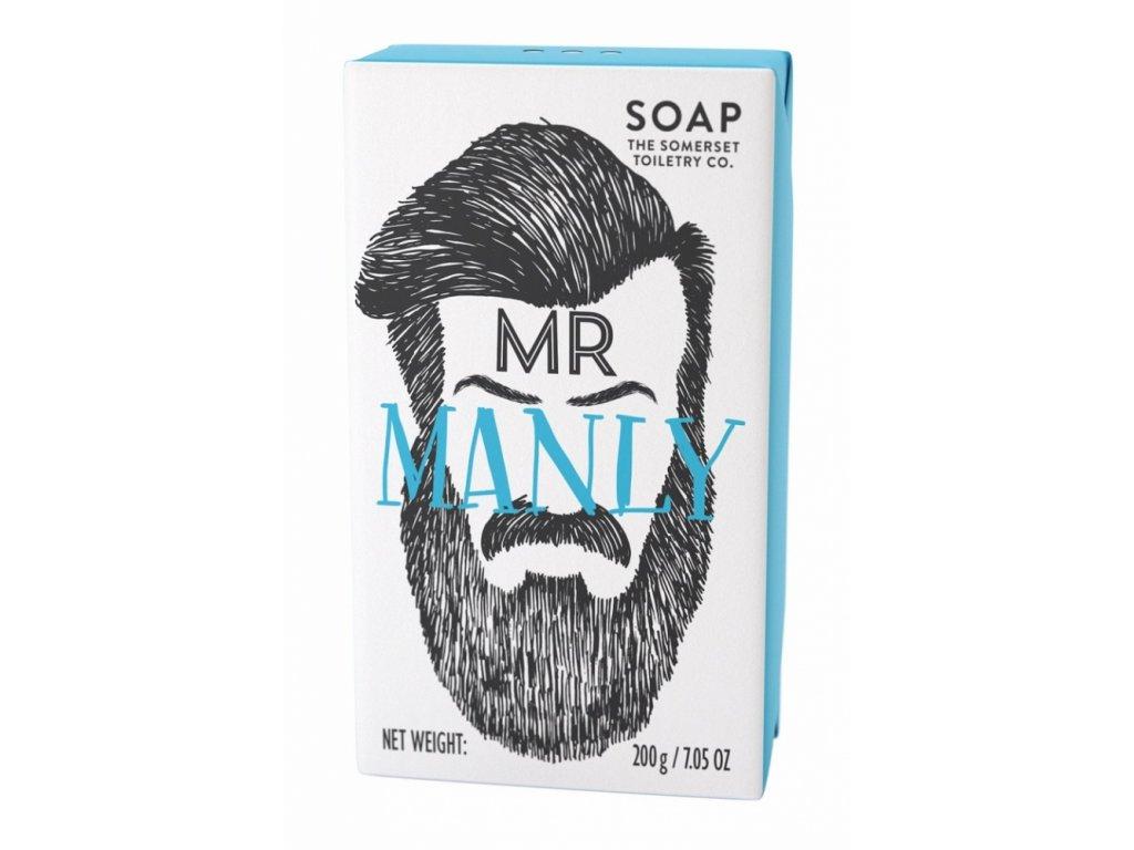 """Somerset Toiletry Luxusní Pánské mýdlo - """"Pan Mužný"""", 200g"""