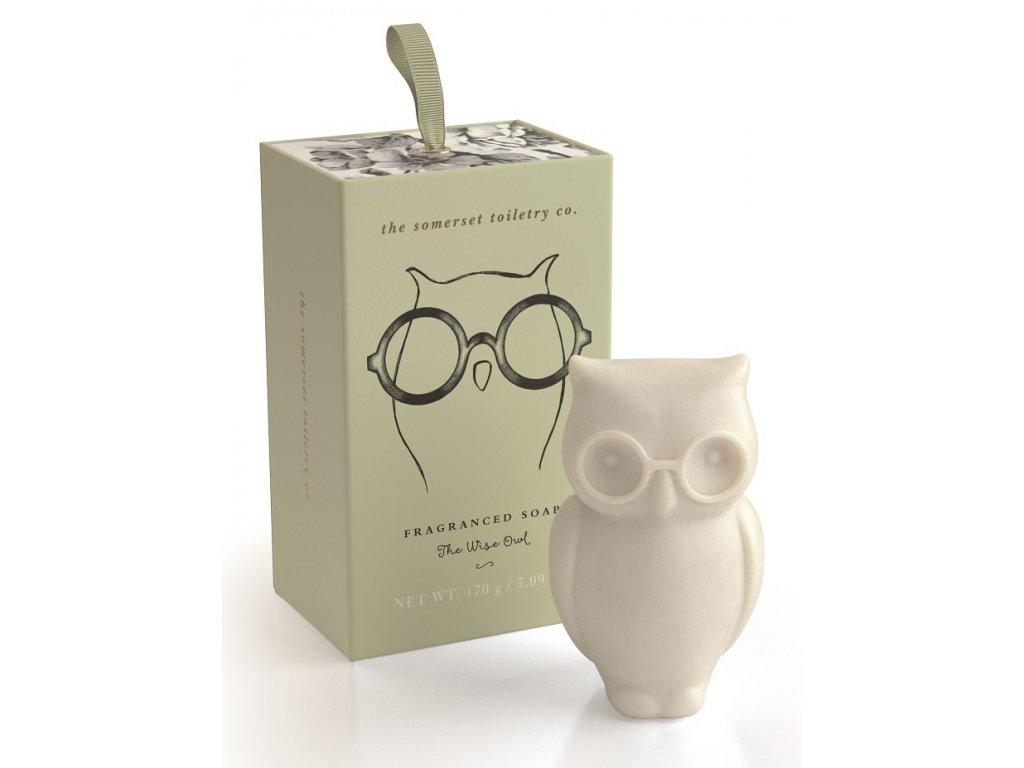 Somerset Toiletry Luxusní mýdlo v Dárkové krabičce - Sova, 150g