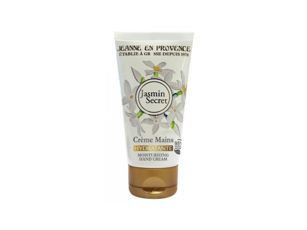 Jeanne en Provence Výživný Krém na ruce - Tajemství Jasmínu, 75ml