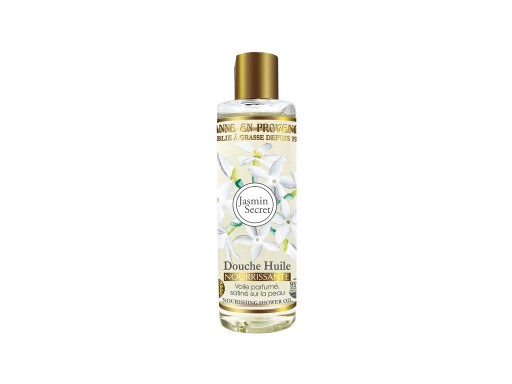Jeanne en Provence Výživný Sprchový Olej - Tajemství Jasmínu, 250ml