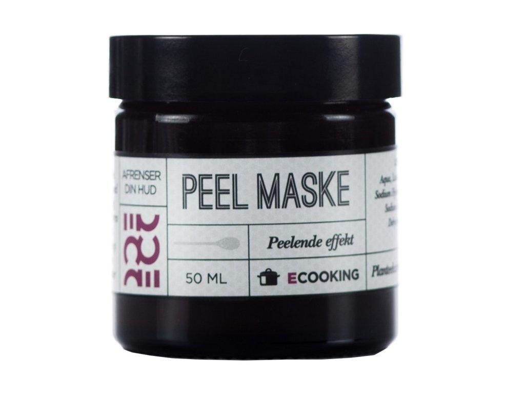 Ecooking Pleťová Peelingová Maska, 50ml
