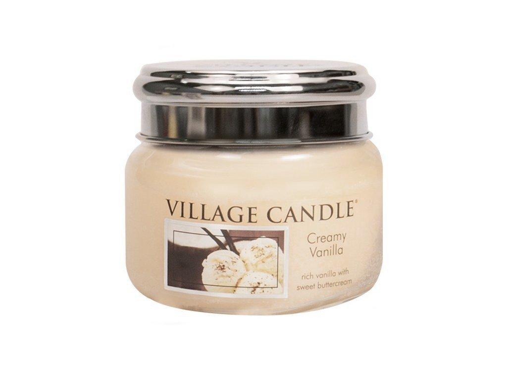 41762 1 village candle vonna svicka ve skle vanilkova zmrzlina creamy vanilla 11oz