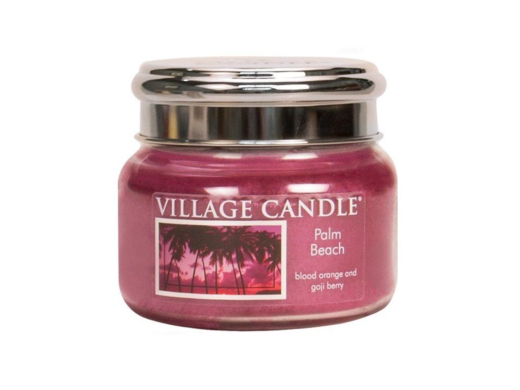 Village Candle Vonná svíčka ve skle, Palmová pláž - Palm Beach, 11oz