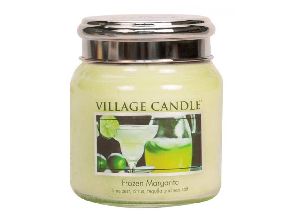 Village Candle Vonná svíčka ve skle, Margarita - Frozen Margarita, 16oz