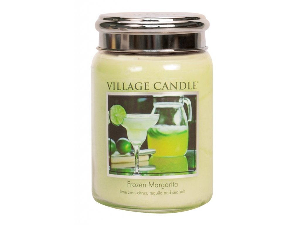 Village Candle Vonná svíčka ve skle, Margarita - Frozen Margarita, 26oz