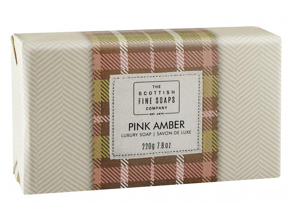 Scottish Fine Soaps Jemné Mýdlo - Růžová ambra, 220g
