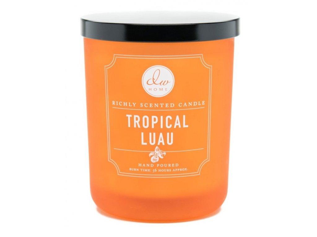 DW Home Vonná svíčka ve skle Tropické Luau - Tropical Luau, 15oz