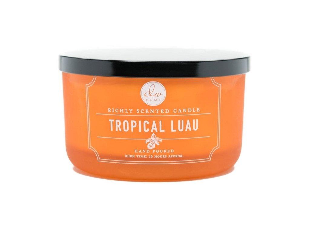 DW Home Vonná svíčka ve skle Tropické Luau - Tropical Luau, 14,8oz