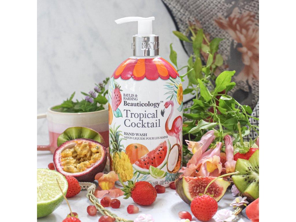 Baylis & Harding Tekuté mýdlo na ruce - Tropický Koktejl, 500ml