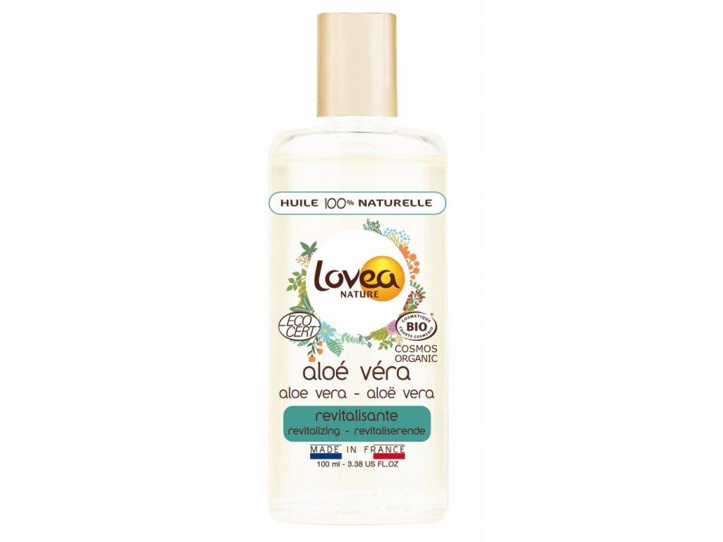 Lovea 100% Přírodní BIO Revitalizační Tělový olej - Aloe Vera, 100ml