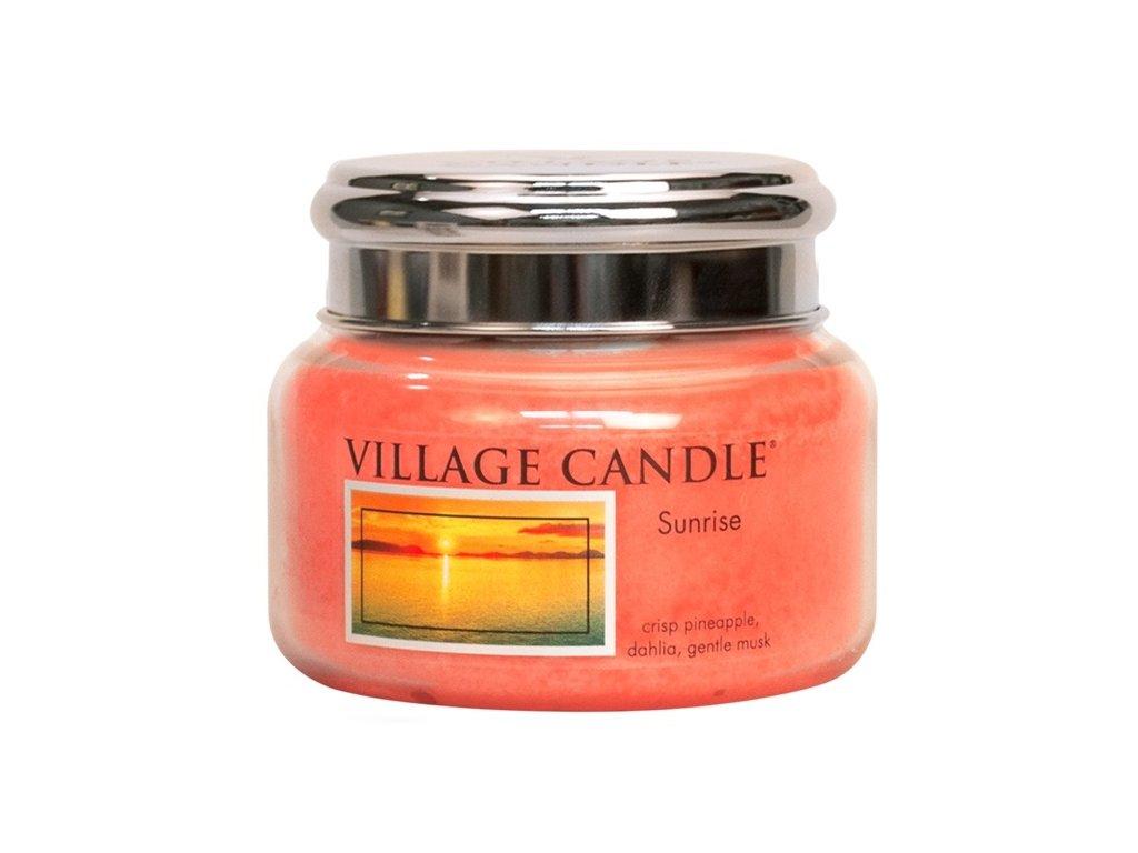 Village Candle Vonná svíčka ve skle, Východ slunce - Sunrise, 11oz