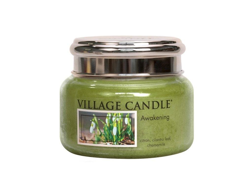 Village Candle Vonná svíčka ve skle, Jarní Probuzení - Awakening, 11oz