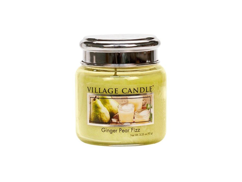Village Candle Vonná svíčka ve skle, Hruškový fizz se zázvorem, 3,75oz