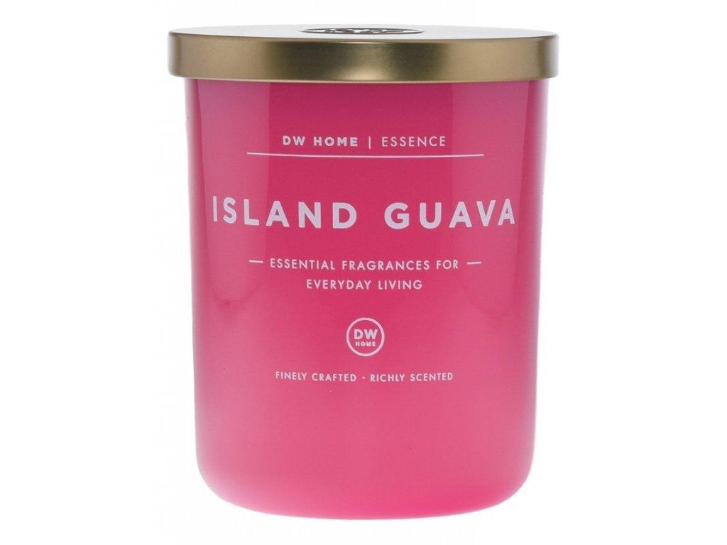 DW Home Vonná svíčka ve skle Kvajáva - Island Guava, 26,2oz