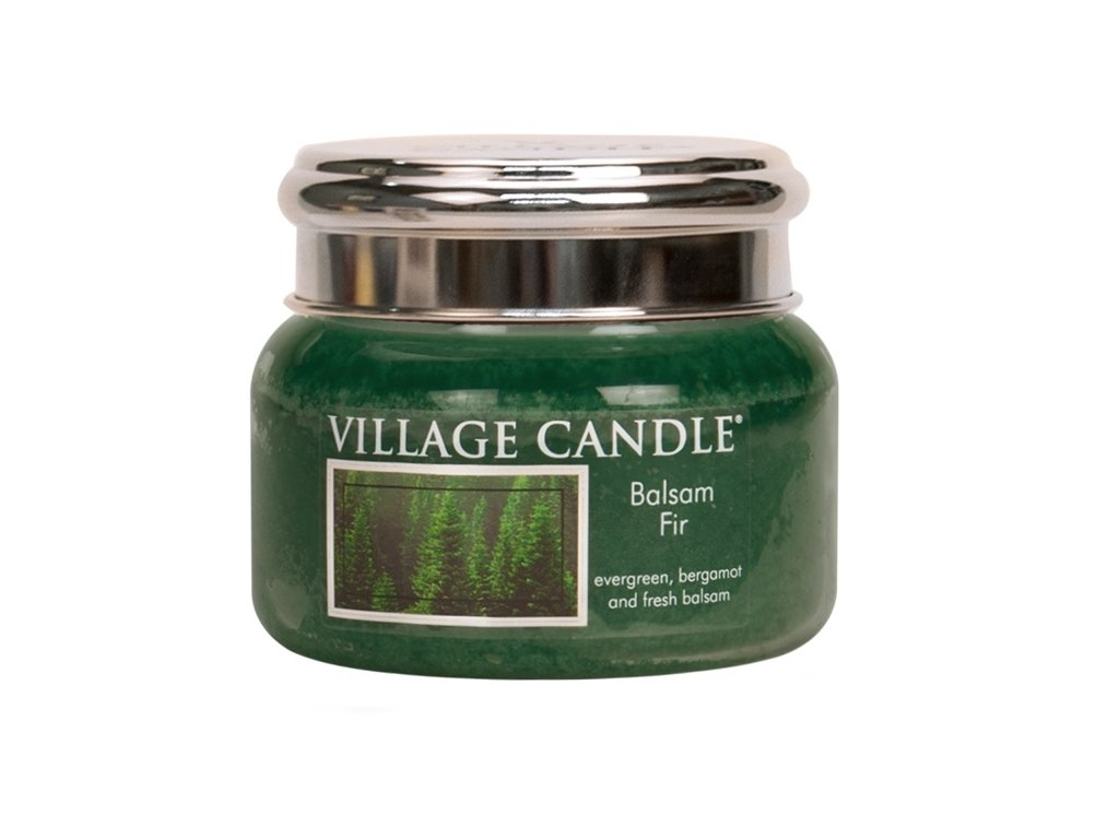 Village Candle Vonná svíčka ve skle, Jedle - Balsam Fir, 11oz