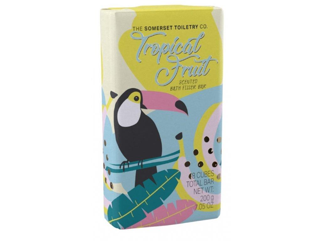 Somerset Toiletry Šumivé kostičky do koupele - Tropické ovoce, 200g