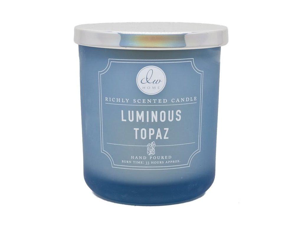 DW Home Vonná svíčka ve skle Průzračný Topaz - Luminous Topaz, 3,8oz